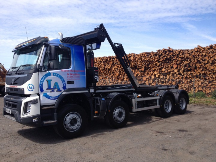 lowmac-recycling-truck