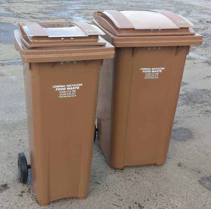 Lowmac Food Waste Bins