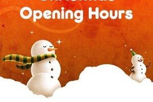 Lowmac Christmas Opening Hours