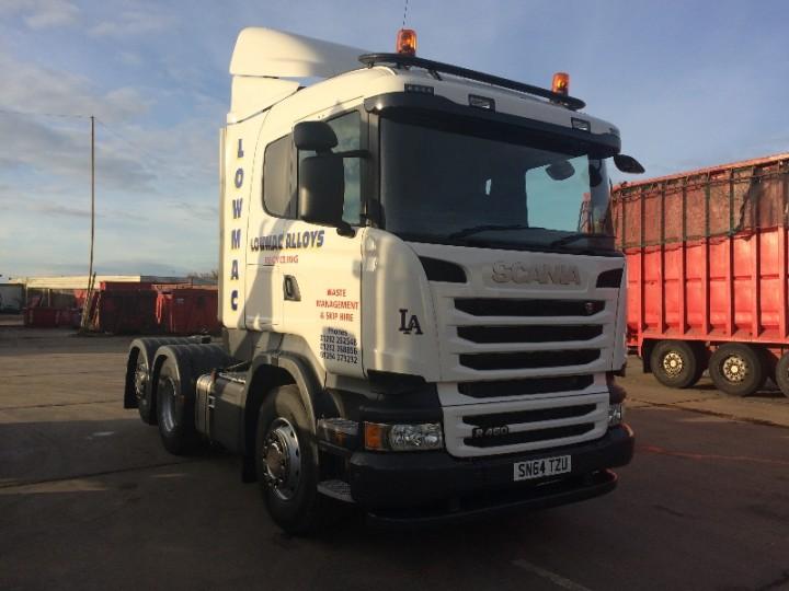 Lowmac Scania Irvine Recycling Ayrshire