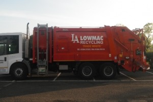 New Bespoke Lowmac Food Waste Vehicle